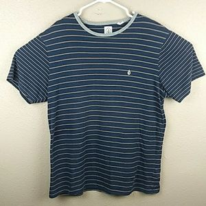 Volcom striped tee shirt